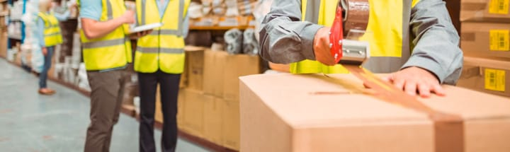 Packaging and transportation logistics